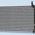 Радиатор кондиционера. Защищаем зимой на  Daewoo Nexia.