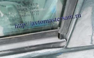 Угол уплотнения стекла