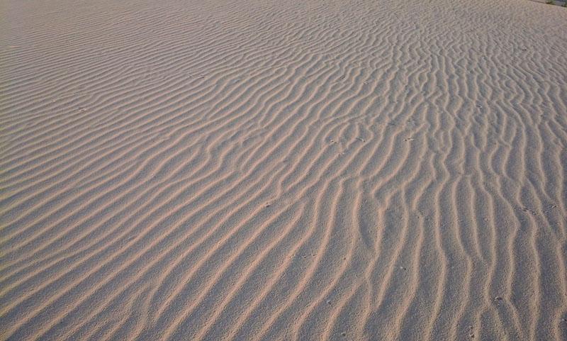 Рябь на песке