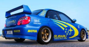 Subaru WR Blue
